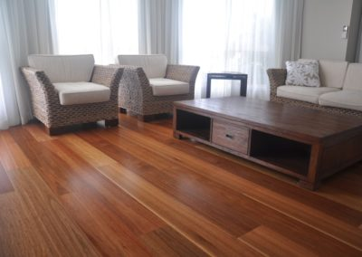 180x14mm Prefinished Engineered Spotted Gum- Satin Finish