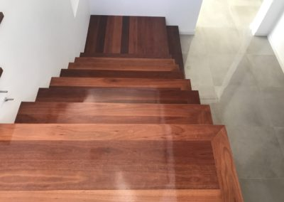 Solid Jarrah Staircase 2