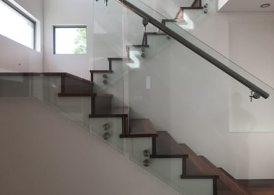 Solid jarrah Staircase